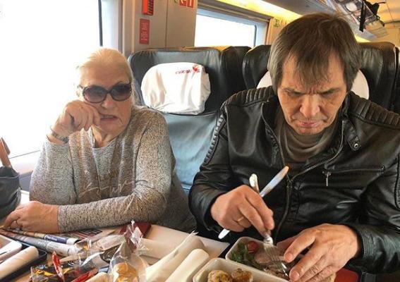 Бари Алибасов и Лидия Федосеева-Шукшина отправились в Финляндию в свадебное путешествие