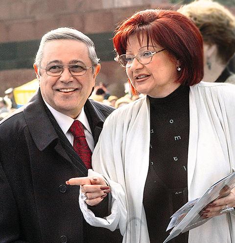 В ноябре прошлого года семейная пара развелась после 33 лет брака