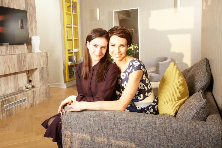 Свободное время Ирина посвящает общению с дочерью