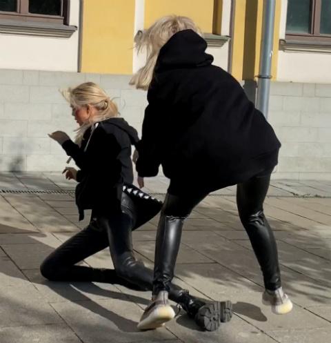 Мария Погребняк и Милана Тюльпанова