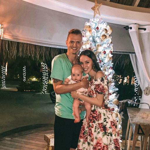 Первый Новый год дочери Анастасии и Дмитрия