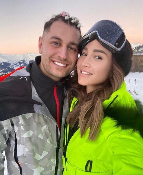 Влюбленные отдыхали вместе в горах