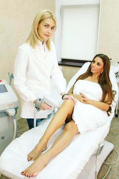 Певица обращается только к проверенным специалистам клиники Soins de Beaute