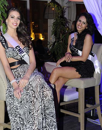 Мисс Чили и мисс Шри-Ланка