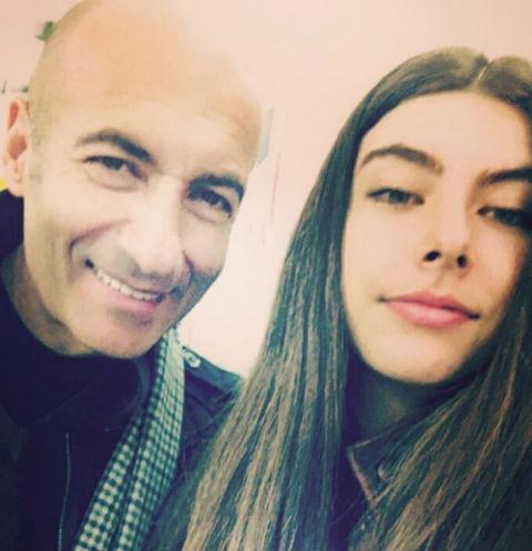 Игорь Крутой с дочерью Александрой