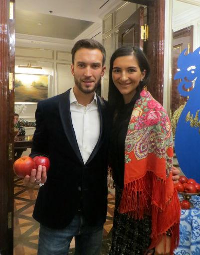 Илья Минин и Элина Керимова