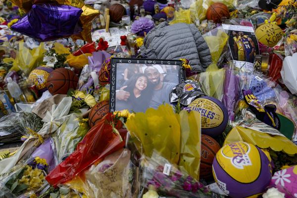 Гибель Коби и Джанны стала трагедией для миллионов поклонников баскетбола