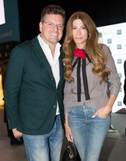 Константин Андрикопулос с супругой Ольгой