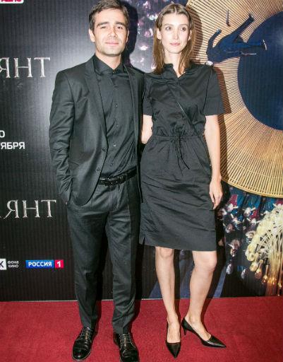 Петр Федоров с подругой