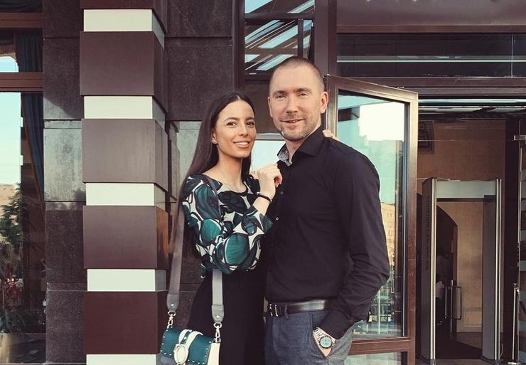 Олег Винник с бывшей супругой