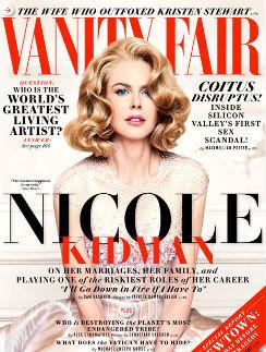 Николь Кидман стала лицом декабрьского выпуска Vanity Fair