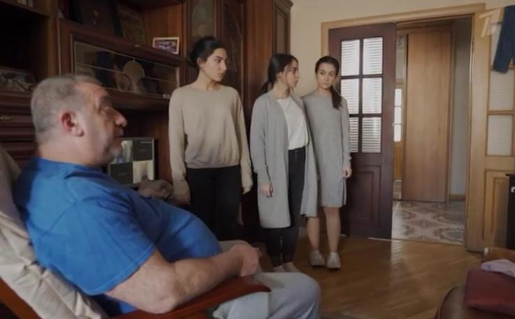 Съемочная группа экранизировала события из жизни семьи