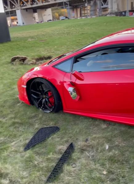 Блогер показал, что стало с авто