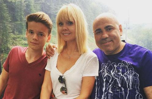 Иосиф Пригожин с Валерией и Арсением