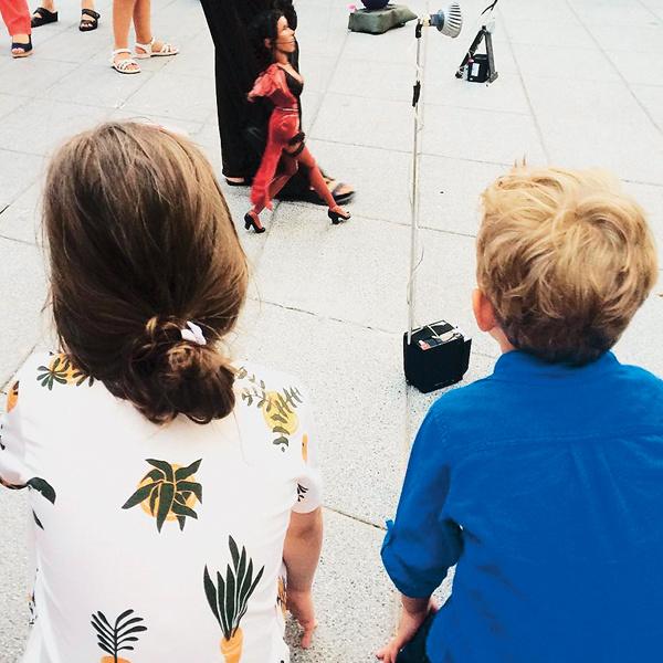 Надежда пока скрывает от подписчиков в соцсетях лица 5-летней Нины и 3-летнего Ивана