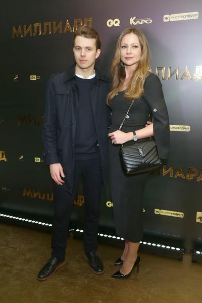 Актриса со старшим сыном Андреем