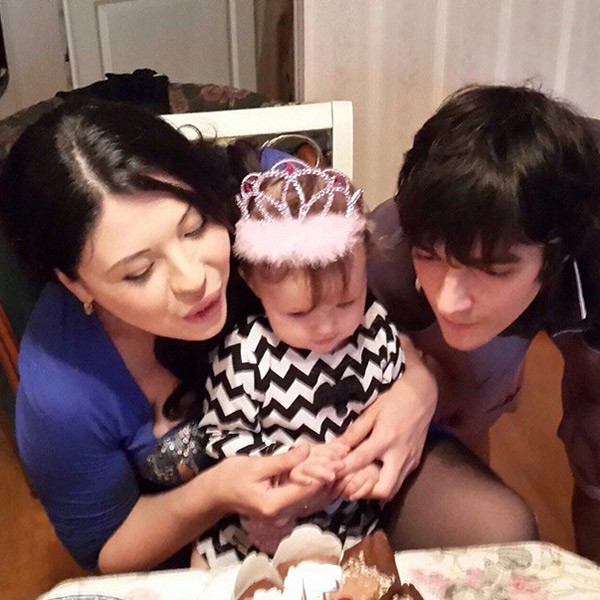 Месяц назад Инна с Иваном отпраздновали годик своей дочери Маши