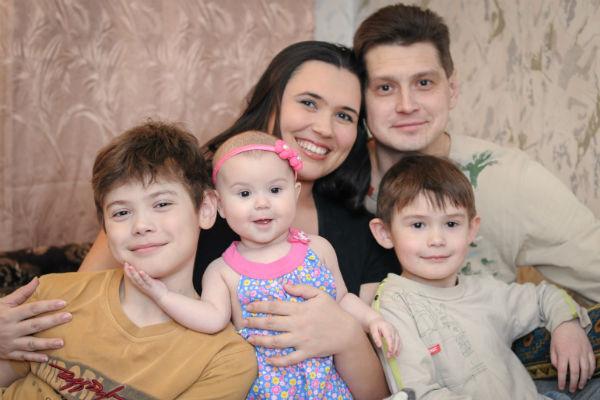 Семья Галкиных