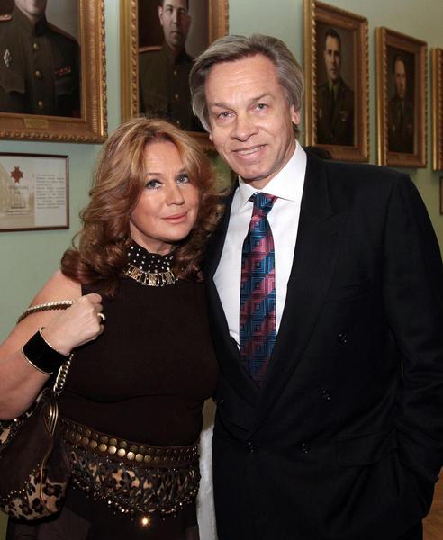 Нина и Александр Пушковы