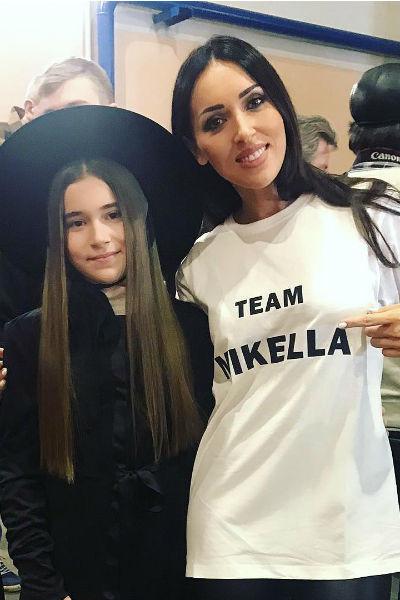 Микелла Абрамова с Алсу