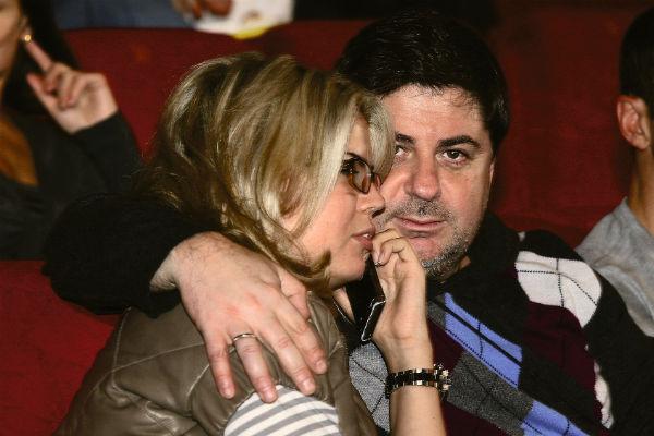 Александр Цекало с бывшей женой Викторией Галушка