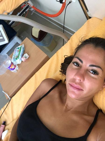 Сейчас Беркова все еще находится в больнице