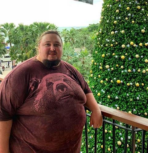Сейчас вес Луки составляет порядка 242 килограммов