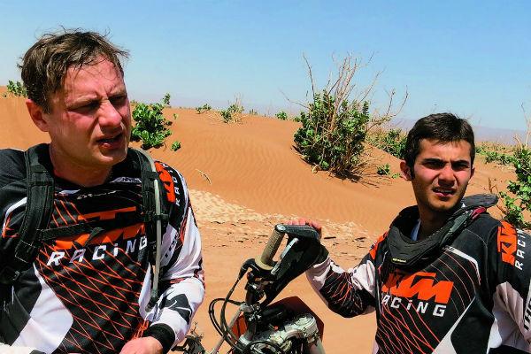 Отец и сын мечтали участвовать в гонках Париж – Даккар