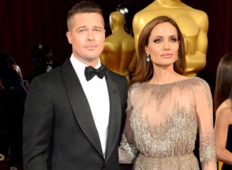 Питт признался в любви Джоли и решил отказаться от развода