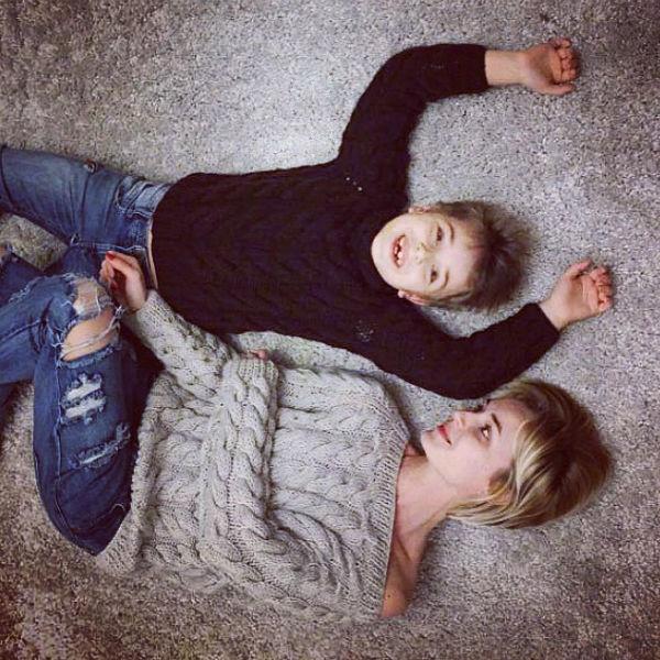 Семилетний Андрей принял нового мужа своей знаменитой мамы с большой радостью