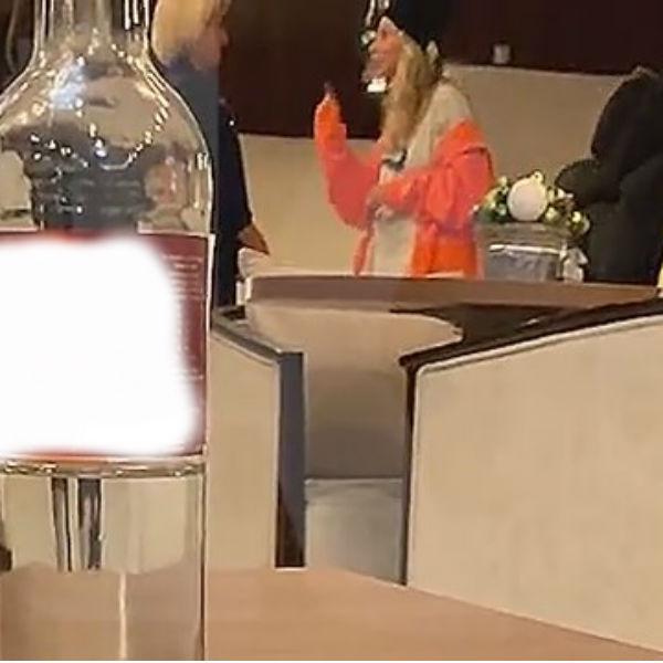 Скандал в аэропорту попал на видео