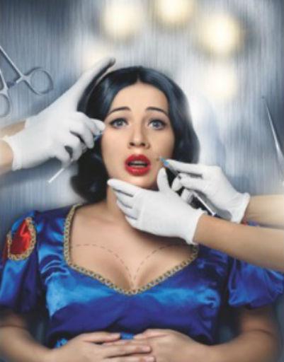 Марила Орел в образе Белоснежки