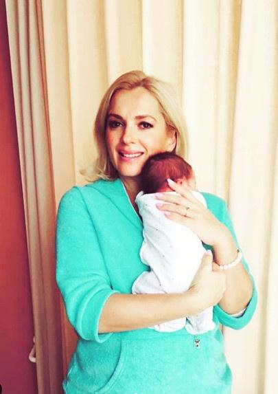Мария показала малыша в социальной сети