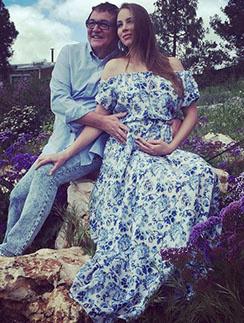 Полина и Дмитрий Дибровы во время недавнего путешествия по Израилю