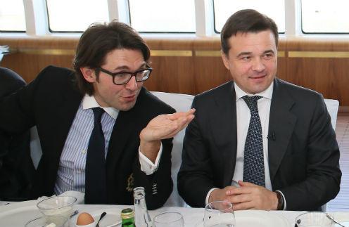 Я представлял губернатору Московской области Андрею Воробьеву своих коллег