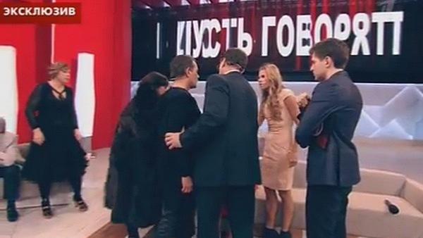 Вадим Казаченко и Ольга Мартынова устроили словесную перепалку