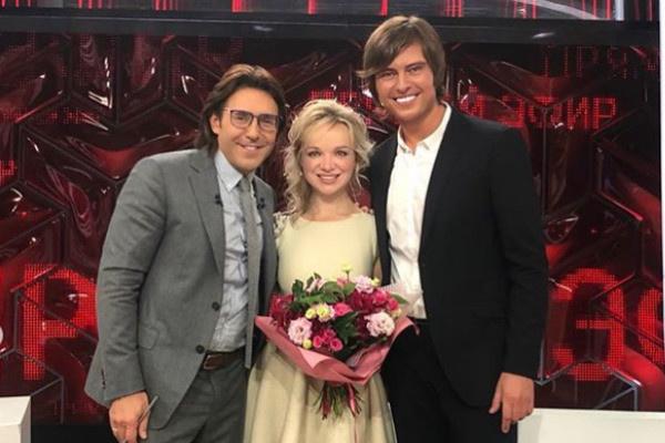 Звезды вместе посетили шоу Андрея Малахова