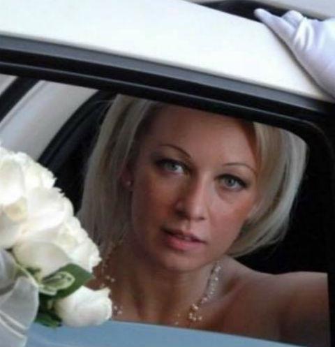 Мария Захарова вышла замуж 11 лет назад