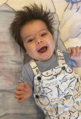 29 июля малышу исполнилось три месяца