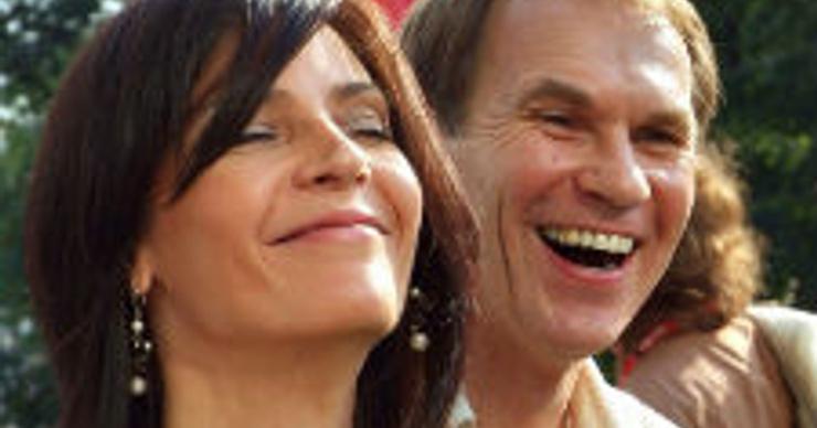 Алексей Гуськов и Лидия Вележева стали дедушкой и бабушкой