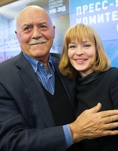 Станислав Говорухин и Юлия Пересильд