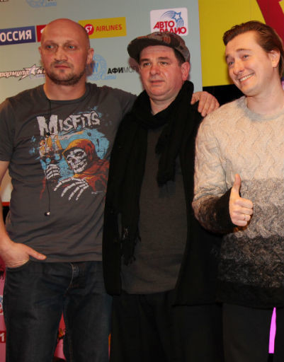Гоша Куценко, Дато Бахтадзе, Сергей Безруков
