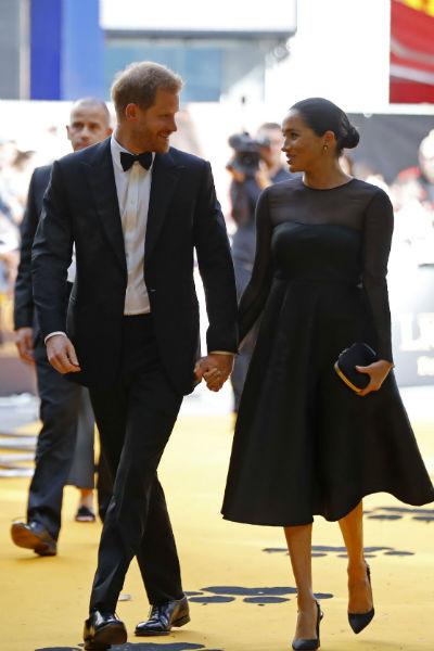 Пара посетила премьеру «Короля Льва»