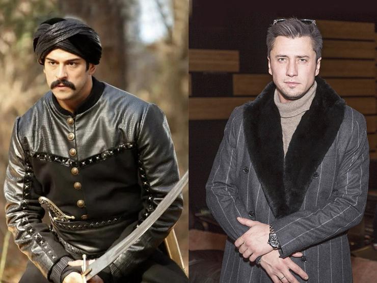 Бурак Озчивит и Павел Прилучный