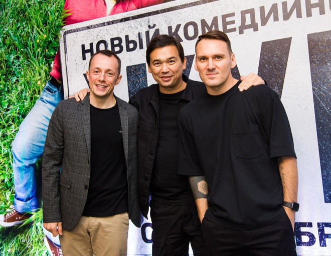 Сергей Нотариус, Вячеслав Дусмухаметов, Максим Пешков
