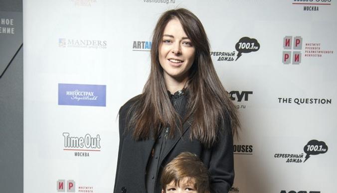 Марина Александрова вышла в свет с подросшим сыном