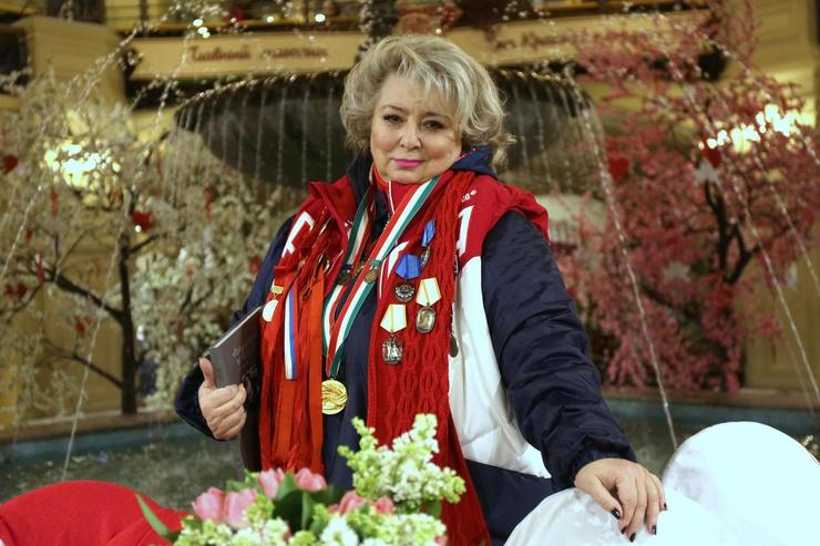 Тарасова всю жизнь посвятила отечественному спорту