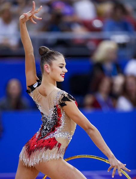 Александру Солдатову называют одной из самых красивых спортсменок в мире