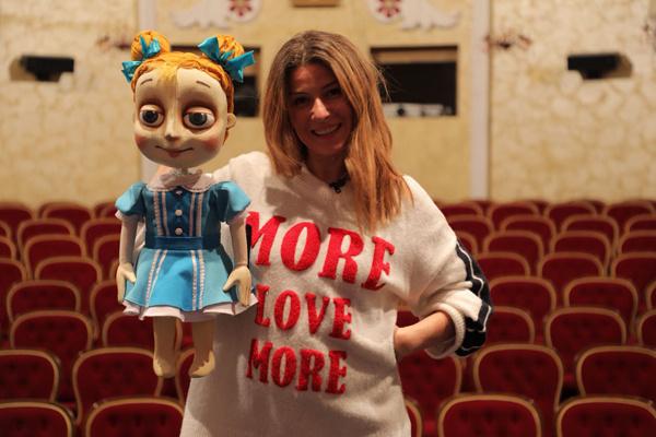 Телеведущая с детства не была в кукольном театре. Пришло время вернуться