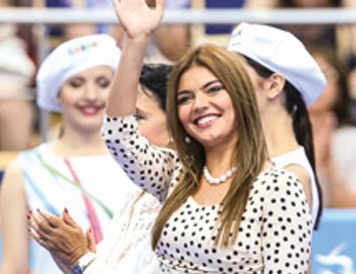 Алина Кабаева спасла ребенка